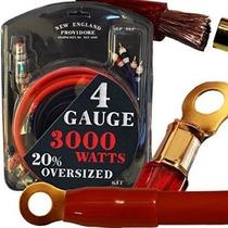 20 Pie Calibre 4 Amp Kit Con 20% Cables De Gran Tamaño - Ins
