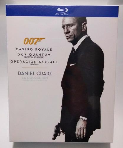 Daniel Craig La Colección James Bond 007 Película Bluray