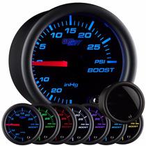 Medidor De Turbo Y Vacio Glowshift 7 Colores Psi
