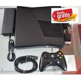 Xbox360 Slim 1tb Rgh 170juegos Incluye Control Y Envio!!