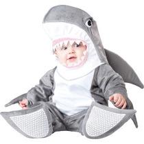Disfraz De Tiburon Bebe Primavera Animales 6/12 18/24 Meses