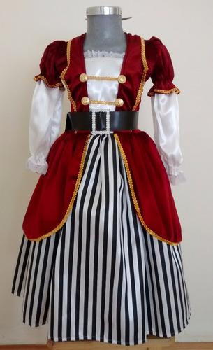 d20ccfa94 Disfraz Pirata Niña Calidad Premium