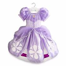~disfraz Vestido Princesita Sofia Original Disney Store