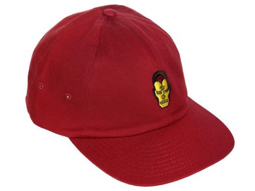 Gorra Snapback Vans Roja Marvel Ironman 77b86e33660