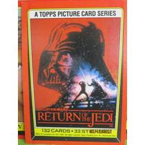 Tarjetas Star Wars Return Of The Jedi De 1983 / Hm4