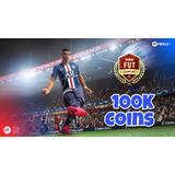 100k Fifa 21 Ultimate Team Ps4 / Ps5 (mo)(ne)(das)