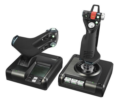 Control Joystick Logitech X52 Professional Hotas Negro