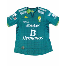 Playera Jersey Club Leon Original Pirma Local 2016 Verde !!!