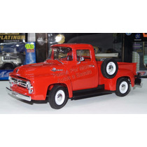 1:18 Ford F-100 Pick Up 1956 Rojo Welly
