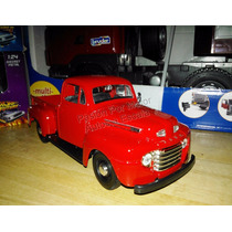 1:25 Ford F1 Pick Up 1948 Rojo Maisto Special E Display 1:24