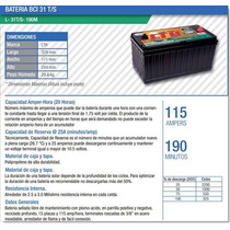 Bateria Solar Fotovoltaica Ciclado Profundo Lth