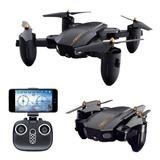 Drone Plegable Rc Cámara Angulo Amplio Fpv