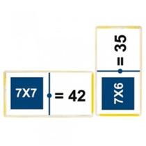 Domino Tablas De Multiplicar Material Didactico