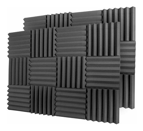 12 Paneles Acusticos Grueso De 5cm