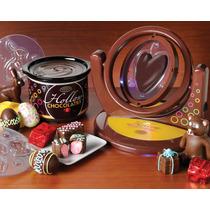 Maquina Y Olla Electrica Hacer Chocolates Huecos Nostalgia