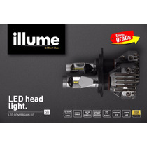 Bulbos Luces Illume Led Philips 3600lm Superior Xenón Y Cree