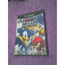Juego Sonic Heroes Nintendo Gamecube