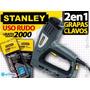Engrapadora Uso Rudo Electrica Clavadora Trabajo Hd Stanley
