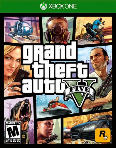 Grand Theft Auto V - Xbox One (gta V)