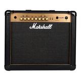 Amplificador Marshall Mg Gold Series Mg30gfx 30w Transistor Negro Y Oro