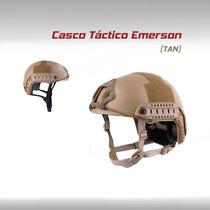 Casco Tactico Militar Emerson Moto Gotcha Paintball Airsoft