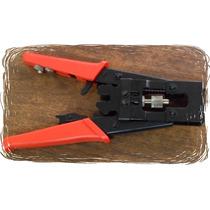 Pinza Ponchadora Bnc,rca Tipo F Cable Coaxial Rg-59,rg-6 Vv4