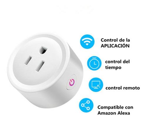 Enchufe Inteligente Wifi Smart Plug Alexa Home Socket Echo