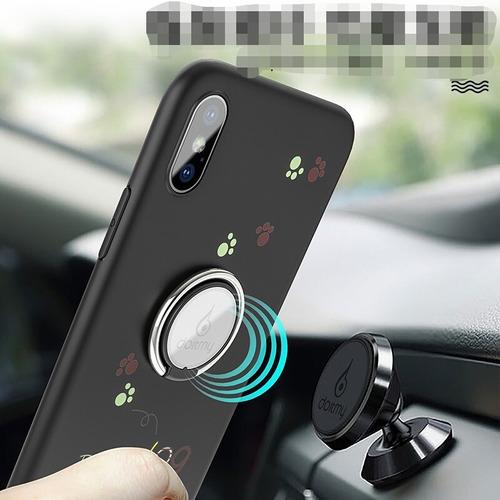2c89d0e670e Funda Anillo Iphone X Compatib Magnético Perrito
