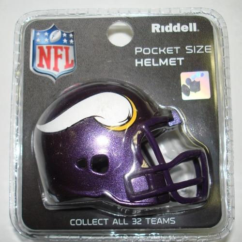 9e5a6dc108c63 Micro Casco Pocket Riddell Nfl Original