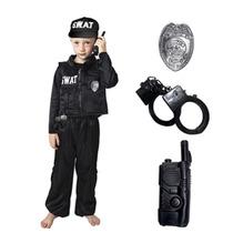 Disfraz Policia Swat Niño