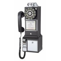 Teléfono Público Con Tecnología Push Button, Negro
