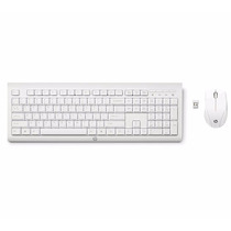 Kit De Teclado Y Mouse Inalambrico Hp C2710 Blanco
