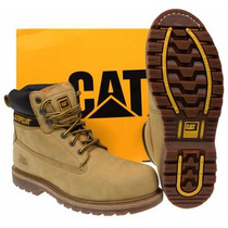 Botas Caterpillar Steel Toe Originales, Logo Tractor
