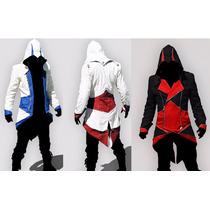 Hoddie Chamarra Blazer Assassins Creed Cosplay Animecun