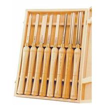 Set 8 Accesorios Torno De Madera Cincel Lchss8 Op4
