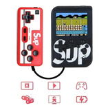 Mini Consola Portatil Game Box Sup 400 Juegos Con Control