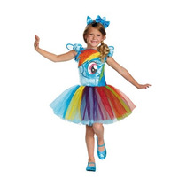 Disfraz Rainbow Dash My Little Pony Traje Tutu