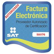 50 Cfdi Factura Electrónica + Sistema En Línea, Somos Pac