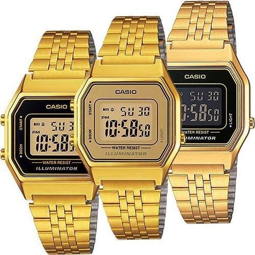 33ebf013091c Reloj Casio Dama Vintage La680 Dorado Original en venta en Cuauhtémoc  Distrito Federal por sólo   1129