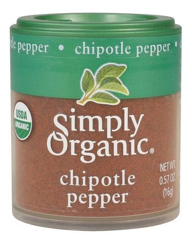 Simply Organic Chipotle En Polvo 71 Gr