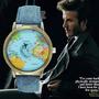 Reloj Viaje Mapa Mundi Mochilero