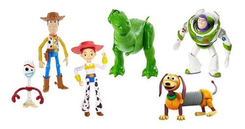 Disney Pixar Toy Story Paquete 6 Figuras Figura Acción