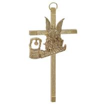 Cristo, Cruz, Crucifijo. Chapa De Oro $70.00