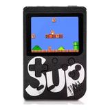 Mini Consola Game Box Sup 400 Juegos Recargable Cable + Av