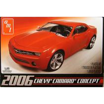 Chevy Camaro 2006 Amt Esc 1/25 Modelo New Caja Sellada