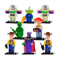 Toy Story Set Figuras Compatible Lego Woody Buzz Zurg Jessie