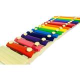 Xilofono Infantil 15 Notas Musical Instrumento Mas Baquetas