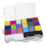 Paquete Múltiple 3  Con 12000pz Accesorios Perler Hama Beads