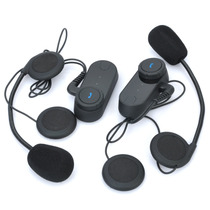 Manos Libres Motocicleta Bluetooh E Interphone Para Cascos