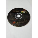 Sega Dreamcast Nfl 2k1 Usado - Blakhelmet C